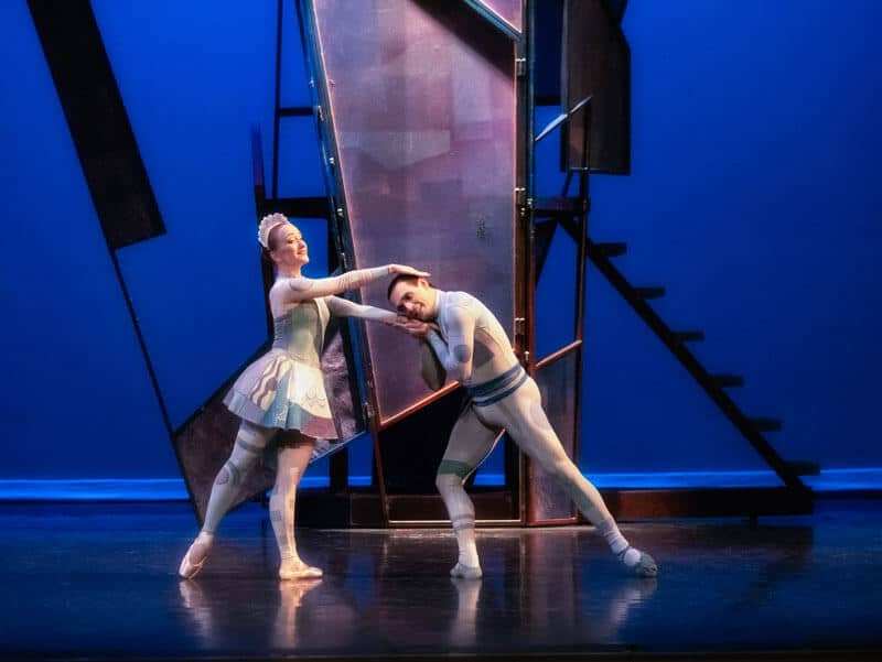 Coppelia - Annelie Liliemark as Klara & Daniel Da Silva as Nathaniel - Photo by Linda Schettle Photography