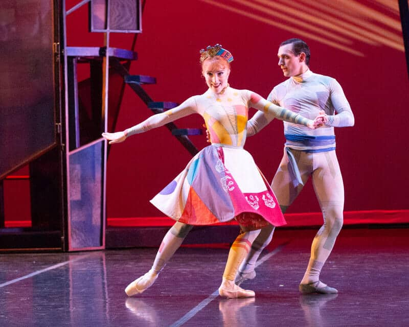 Coppelia - Hannah Mae Cruddas & Daniel Da Silva - Photo by Ted Buck