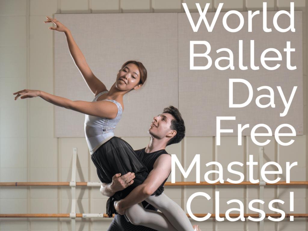 World Baller Day, ballet Jörgen, FREE, masterclass